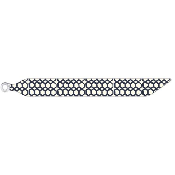 Polygons - Silk Bracelet