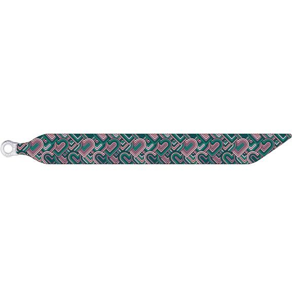 Purple Hearts - Silk Bracelet