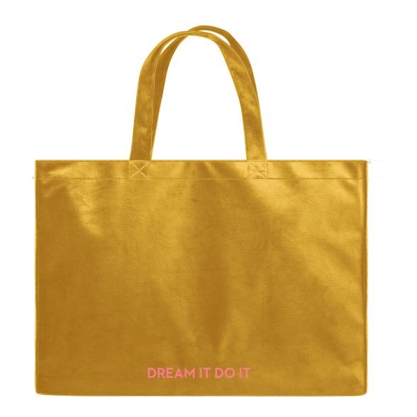 Dream It Do It - Velvet Shopper Bag VEBL0035