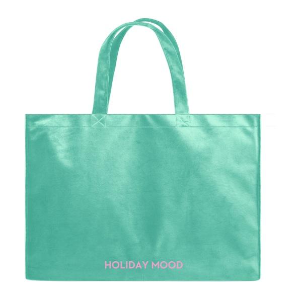 Holiday Mood - Velvet Shopper Bag VEBL0042