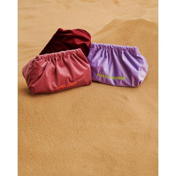 Make It Happen - Velvet Clutch Bag VEBL0029